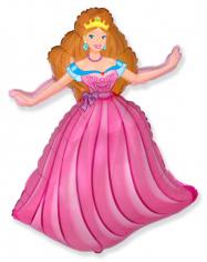 Шар фигура, Принцесса / Princess (в упаковке)