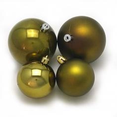 Новогодние шары Оливковый Хаки