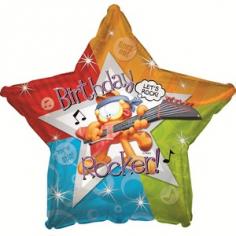 Шар Звезда, С Днем рождения (Гарфилд рок-звезда)
