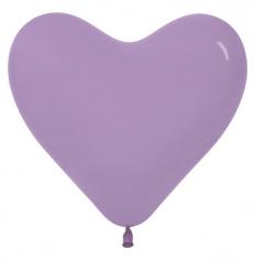 Сердце Сиреневый, Пастель / Lilac