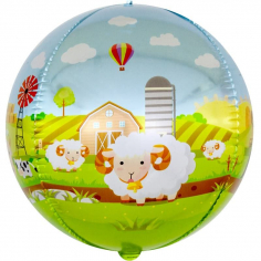 Шар Сфера 3D, Любимая ферма (в упаковке)