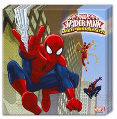 Салфетки Человек - Паук / Ultimate Spiderman Web Warriors