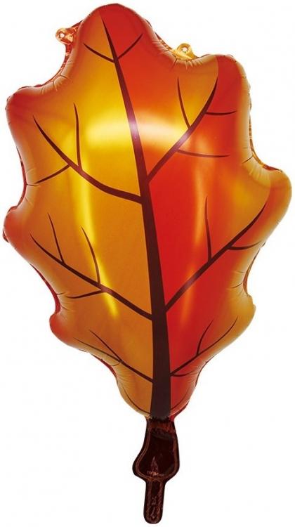 Шар Фигура, Осенний лист (в упаковке)