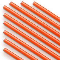 Трубочка полимерная для шаров Оранжевая