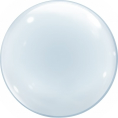 Шар Сфера 3D, Deco Bubble, Прозрачный