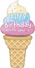 Шар Фигура, Мороженое на День Рождения (в упаковке)