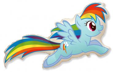 Шар фигура, Пони Радуга / MLP Rainbow Dash (в упаковке)