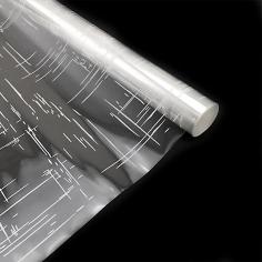 Пленка прозрачная с рисунком