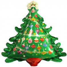Шар Фигура, Новогодняя елка (с игрушками)
