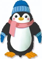 Шар Фигура, Пингвин в шапочке (в упаковке)