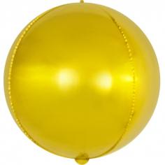 Шар Сфера 3D, Золото (в упаковке)