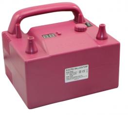 Компрессор с двумя клапанами плавного нажатия с контроллером скорости и времени Розовый (700 ватт)