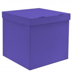 Коробка для воздушных шаров, Лиловая