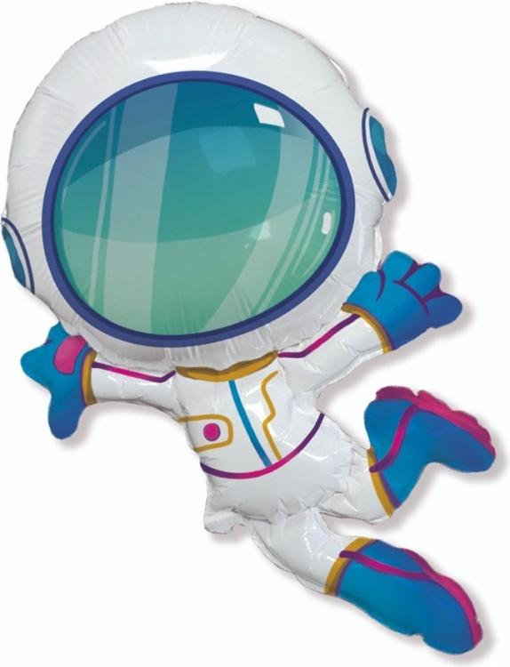 Шар Фигура, Космонавт в невесомости (в упаковке)
