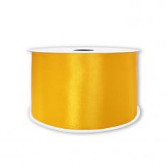 Лента Атлас Темно-желтый
