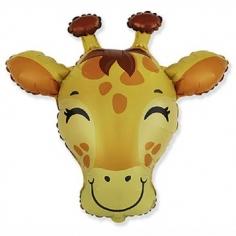 Шар Фигура Голова Жирафа (в упаковке)