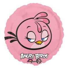 Шар Круг Angry Birds Розовая (в упаковке)