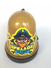 Слайм Прихлоп Перламуровый Золото