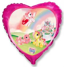 Шар Сердце, Моя маленькая лошадка Замок / My little pony