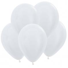 Шар Белый (Жемчужный), Перламутр / White 406P