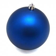 Новогодние шары Темно-синие (матовые)