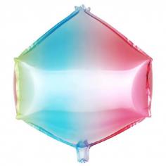 Шар 3D Циркон, Нежная радуга, Градиент (в упаковке)