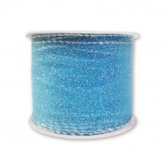 Лента армированная Капрон Голубой