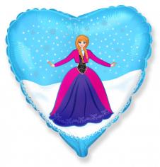 Шар Сердце, Анна / Anna (Холодное сердце)