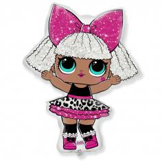 Шар фигура Куклы ЛОЛ, DIVA (в упаковке)