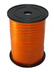 Лента Оранжевая с Золотой полоской
