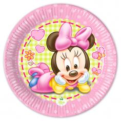 Тарелки Малышка Минни / Baby Minnie