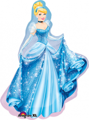 Шар Фигура, Золушка / Cinderella (в упаковке)