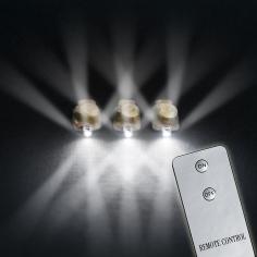 Светодиоды 4D Белые в оболочке 10 шт