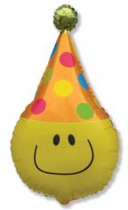 Шар фигура, Весёлый клоун шапка / Clown (в упаковке)