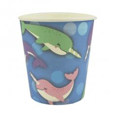 Стаканы бумажные Морской Единорог 6шт