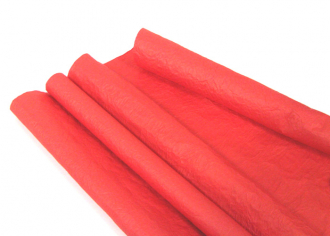 Бумага Эколюкс (жатая) матовая Красная