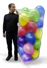 Пакет с микроперфорацией для транспортировки шаров