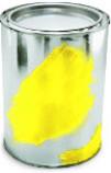 Краска Желтая Флуоресцентная для печати на воздушных шарах
