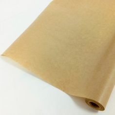 Крафт-бумага вержированная однотонная / рулон