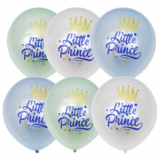 Шар Маленький принц (Little Prince), Ассорти Перламутр (шелк) 1 ст / 25 шт