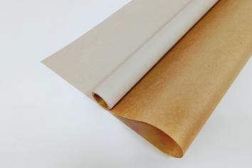 Крафт-бумага вержированная Белая 40гр. / рулон