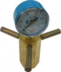 Устройство для проверки давления в баллоне