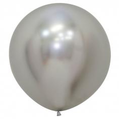 Шар Рефлекс Серебро, (Зеркальные шары) / Reflex Silver