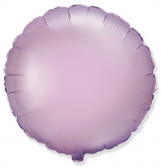 Шар Круг, Сиреневый, Сатин / Lilac Satin (в упаковке)